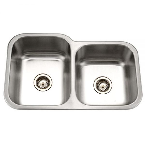 Classic 60/40 Double Bowl/Prep Bowl on the Right (CLA-3221DR)