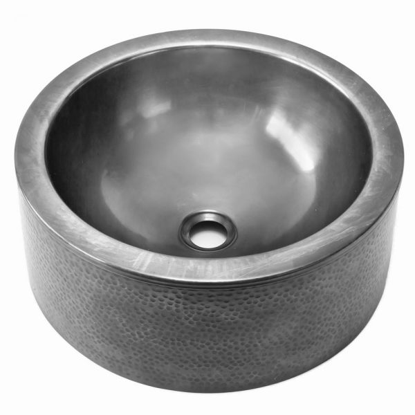 FORM Round Vessel Sink with Apron (FOR-15RVES-PW)