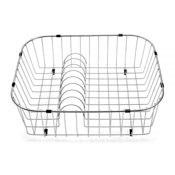 Rinsing Basket with Plate Rack (RIN-19176)